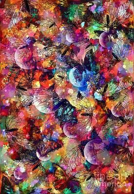 Studio Grafika Vintage Posters - Spring Metamorphosis Art by Laurie