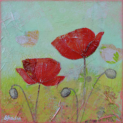 Royalty-Free and Rights-Managed Images - Spring Poppy I by Shadia Derbyshire