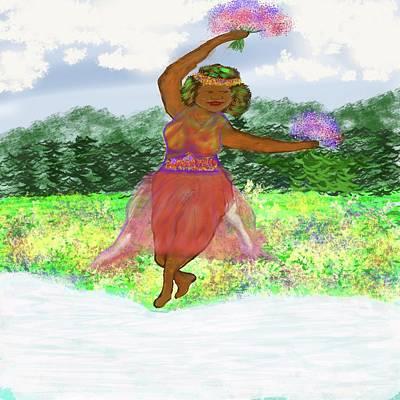 Digital Art - Spring Reborn by Jean Evans