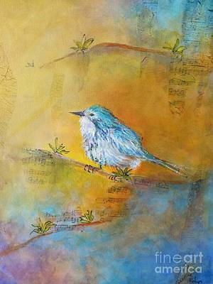 Mixed Media - Spring Song by Sandra Taylor-Hedges