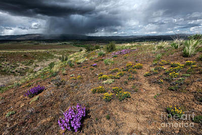 Truck Art Rights Managed Images - Spring Storm over Clemans Royalty-Free Image by Mike Dawson