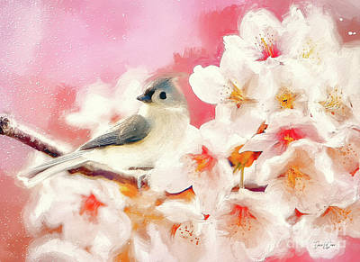 Birds Rights Managed Images - Springs Arrival Royalty-Free Image by Tina LeCour