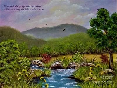 Aloha For Days - Springs In The Valleys2 by Karen Tauber