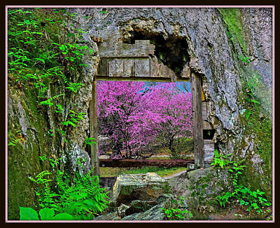 Surrealism Royalty-Free and Rights-Managed Images - Springtime In The Mountains  by Constance Lowery