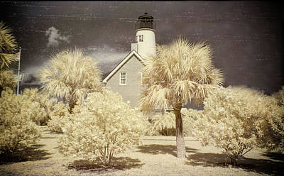 Photograph - St George Island Lighthouse by Jim Cook