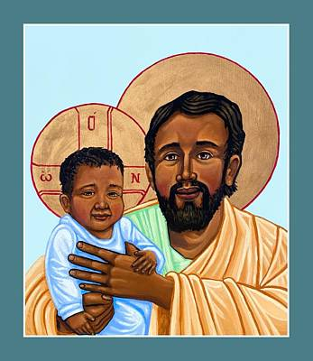 Painting - St. Joseph  by Kelly Latimore