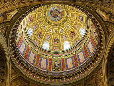 Keith Richards - St. Stephens Basilica Ceiling by Dave Bowman