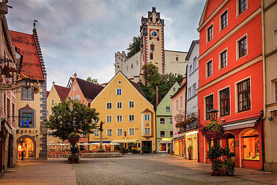 Namaste With Pixels Royalty Free Images - Stadtbrunnen in Fussen, Germany Royalty-Free Image by Alexey Stiop
