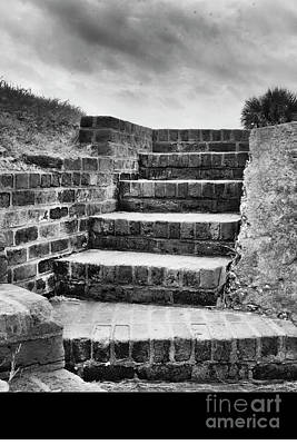 Gaugin - Stairs in Black and White by Tom Gari Gallery-Three-Photography
