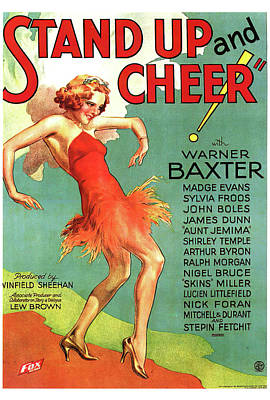 Royalty-Free and Rights-Managed Images - Stand Up and Cheer, 1934 by Stars on Art