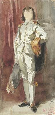 Just Desserts - Standing boy in Van Dyck costume by Artistic Panda