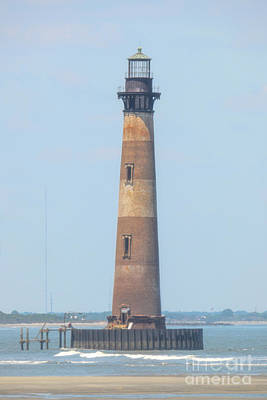 Photograph - Standing Tall - Morris Island Lighthouse - Charleston SC by Dale Powell