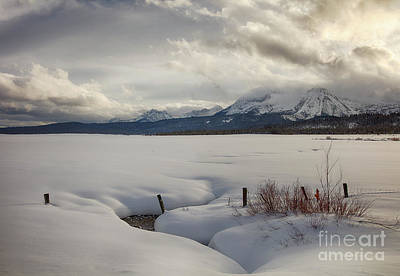 Travel - Stanley Winter Afternoon by Idaho Scenic Images Linda Lantzy