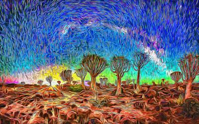 Firefighter Patents - Starry desert by Nenad Vasic