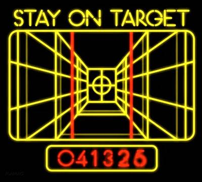 Mannequin Dresses - Stay On Target by Rob Hans