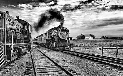 Anchor Down - Steaming through the country side by Paul W Faust -  Impressions of Light