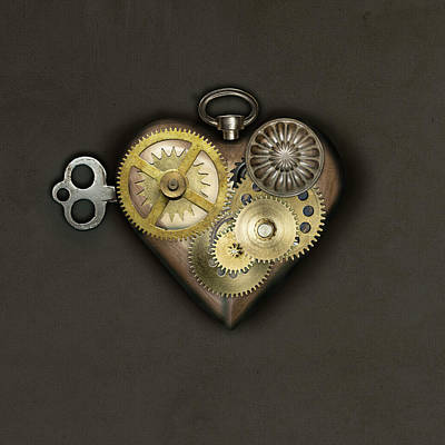 Everett Collection - Steampunk Heart  by Gina Dsgn