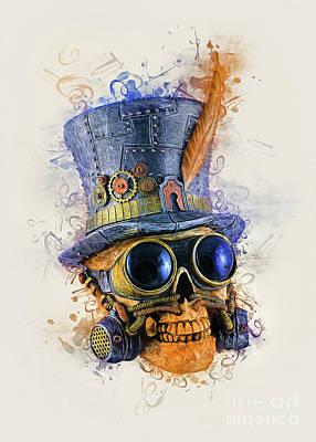 Staff Picks Cortney Herron - Steampunk Skull Art by Ian Mitchell