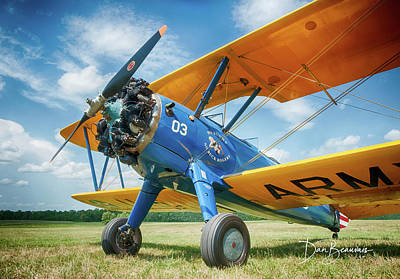 Dan Beauvais Rights Managed Images - Stearman 4496 Royalty-Free Image by Dan Beauvais