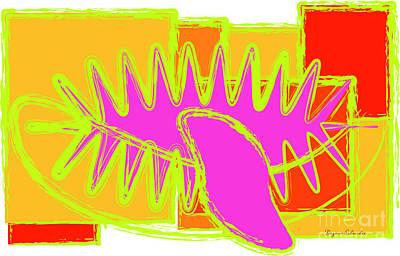 Digital Art - Stick out the tongue by Dagmar Schneider