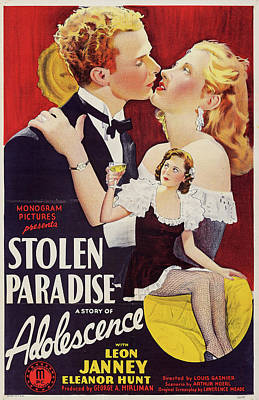 Halloween Movies - Stolen Paradise 1940 by Stars on Art