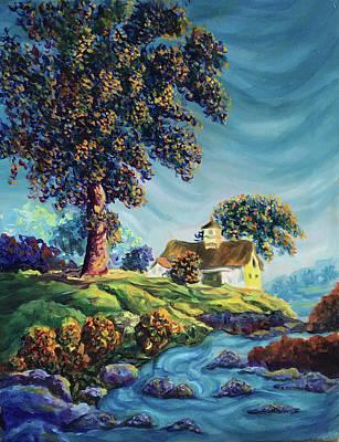 Painting - Stoney Creek Haven by John Entrekin