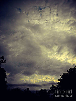Frank J Casella Royalty-Free and Rights-Managed Images - Storm Cloud Beauty by Frank J Casella