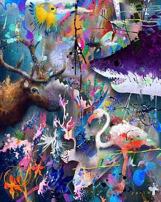 Digital Art - Storm by Jordan Soliz