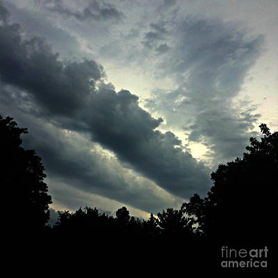 Frank J Casella Royalty-Free and Rights-Managed Images - Storm on the Way by Frank J Casella