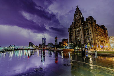 Photograph - Stormy Liverpool by Paul Madden
