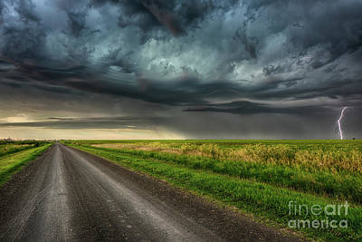 Photograph - Stormy Road by Ian McGregor