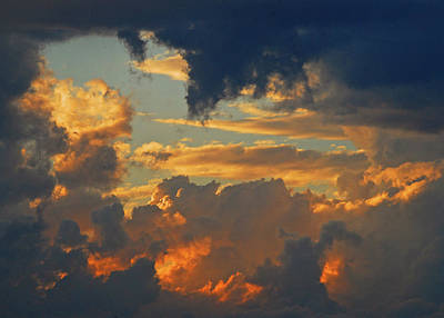 Photograph - Stormy Sunset by Curt Remington