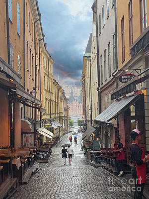 Wild Weather - Stormy Sweden 1 by Micah May