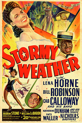 Katharine Hepburn - Stormy Weather 1943 by Stars on Art