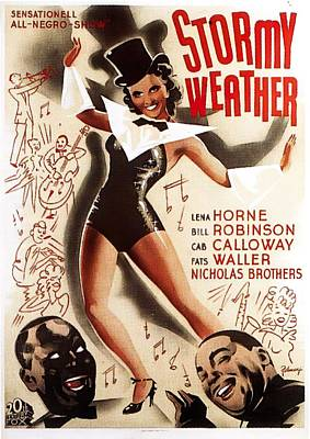 Royalty-Free and Rights-Managed Images - Stormy Weather, with Lena Horne, 1943 by Stars on Art