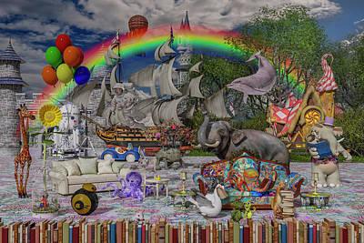 Surrealism Digital Art - Story Starter by Betsy Knapp