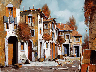 Royalty-Free and Rights-Managed Images - Strada Di Paese by Guido Borelli