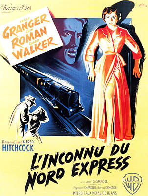 Royalty-Free and Rights-Managed Images - Strangers on a Train, 1951 by Stars on Art