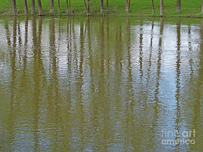 Louis Armstrong - Stream Side Reflection by Ann Horn