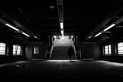 Photograph - Street photography Berlin U2 Prenzlauer Berg by Frank Andree