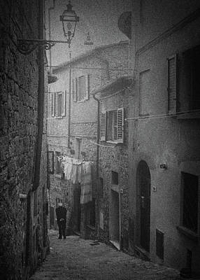 Photograph - Street photography Volterra by Frank Andree