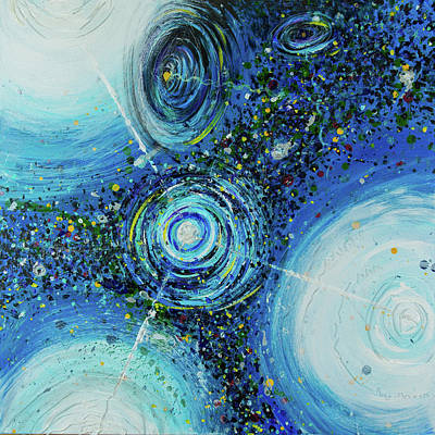 Painting Royalty Free Images - String Theory Royalty-Free Image by Doug LaRue
