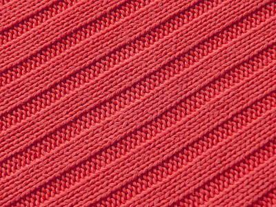 School Teaching - Stripy Crochet Closeup by Julien