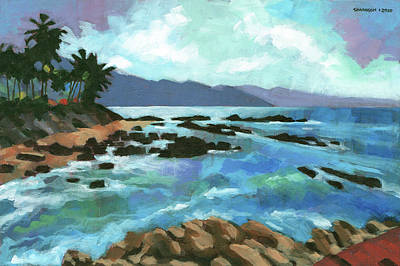 All You Need Is Love - Study for Puerto Vallarta Painting by Douglas Simonson