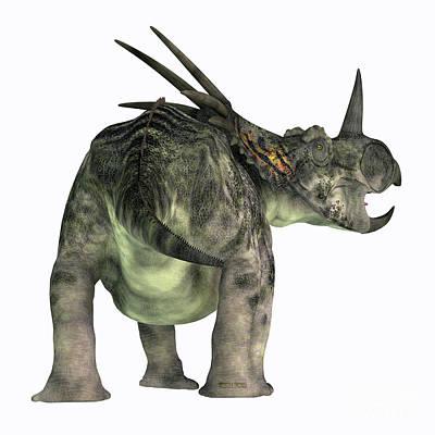Achieving - Styracosaurus Dinosaur Tail by Corey Ford