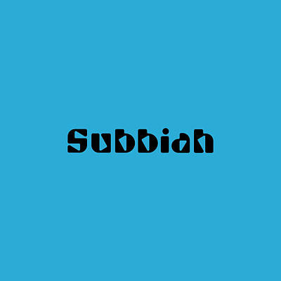 Royalty-Free and Rights-Managed Images - Subbiah by TintoDesigns
