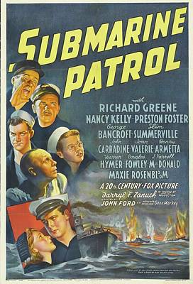 Royalty-Free and Rights-Managed Images - Submarine Patrol, 1938 by Stars on Art