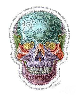 Photograph - Sugar Skull I by Jennifer Fairman