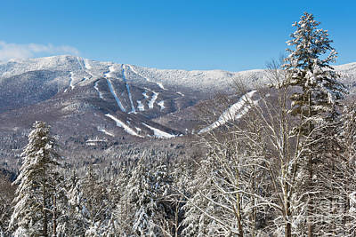 Travel - Sugarbush Ski Area by Alan L Graham