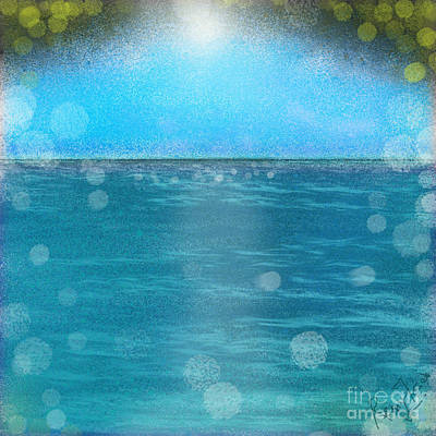 Digital Art - Summer day at the Beach by Remy Francis